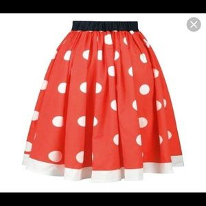 Women's Minnie Mouse Skirt